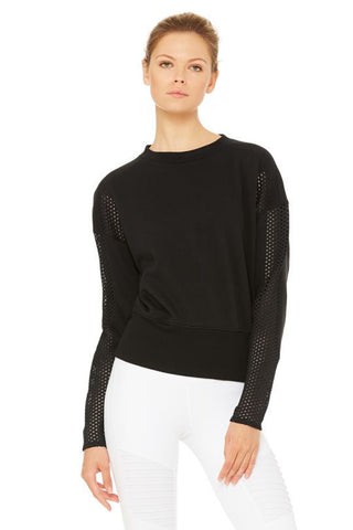 Alo Formation Long Sleeve Black
