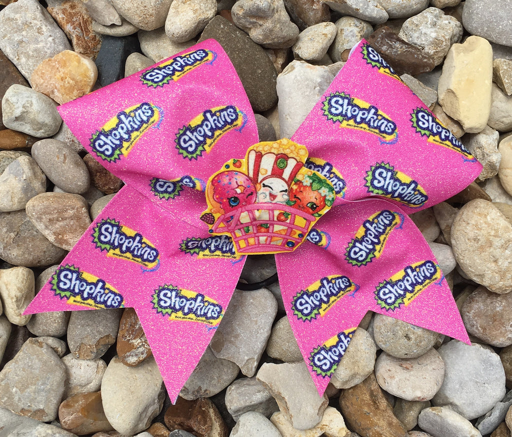 PINK SHOPKINS BOW