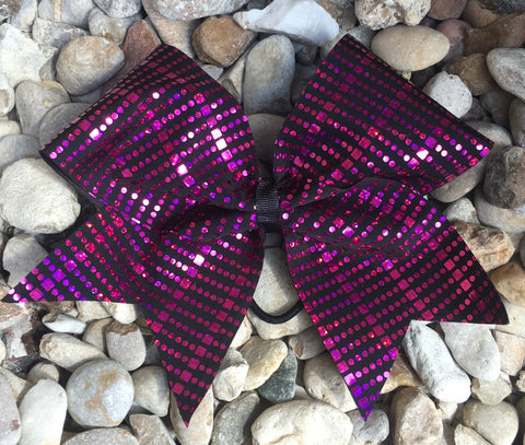 PINK SPARKLE BOW