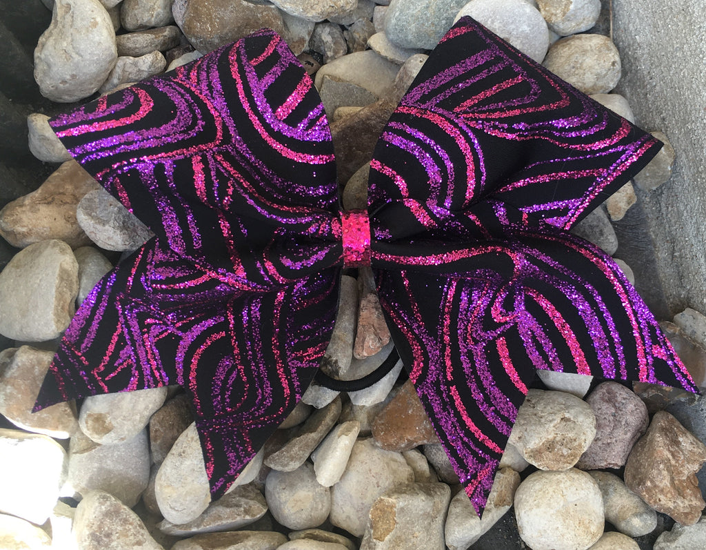 PINK AND PURPLE GLITTER SWILRS