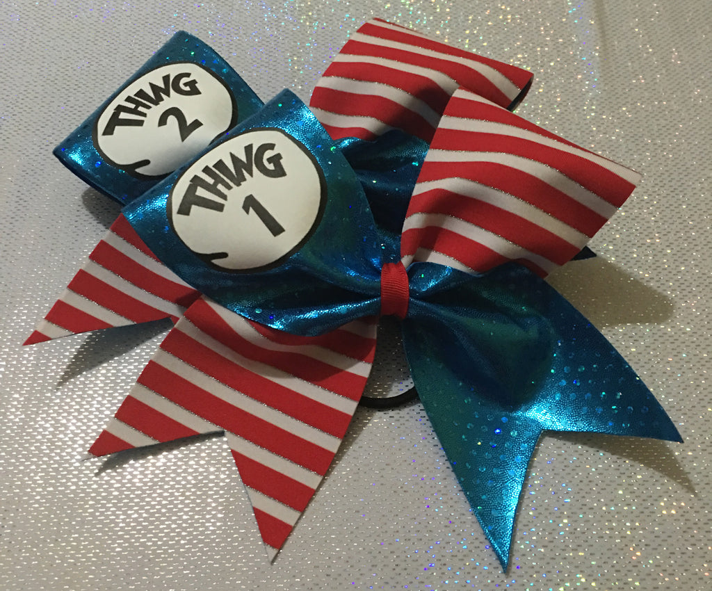 THING 1 & 2 BOW