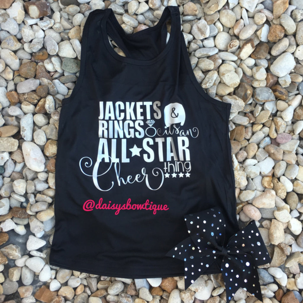 Jackets and rings tank set