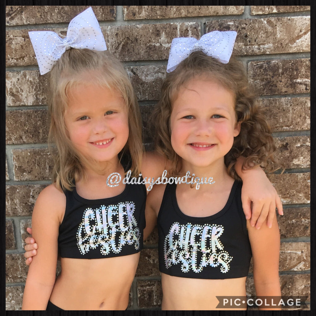 Cheer Besties sports bra