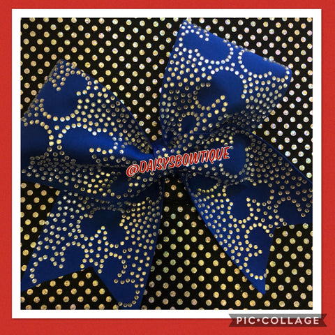Mickey bling bow