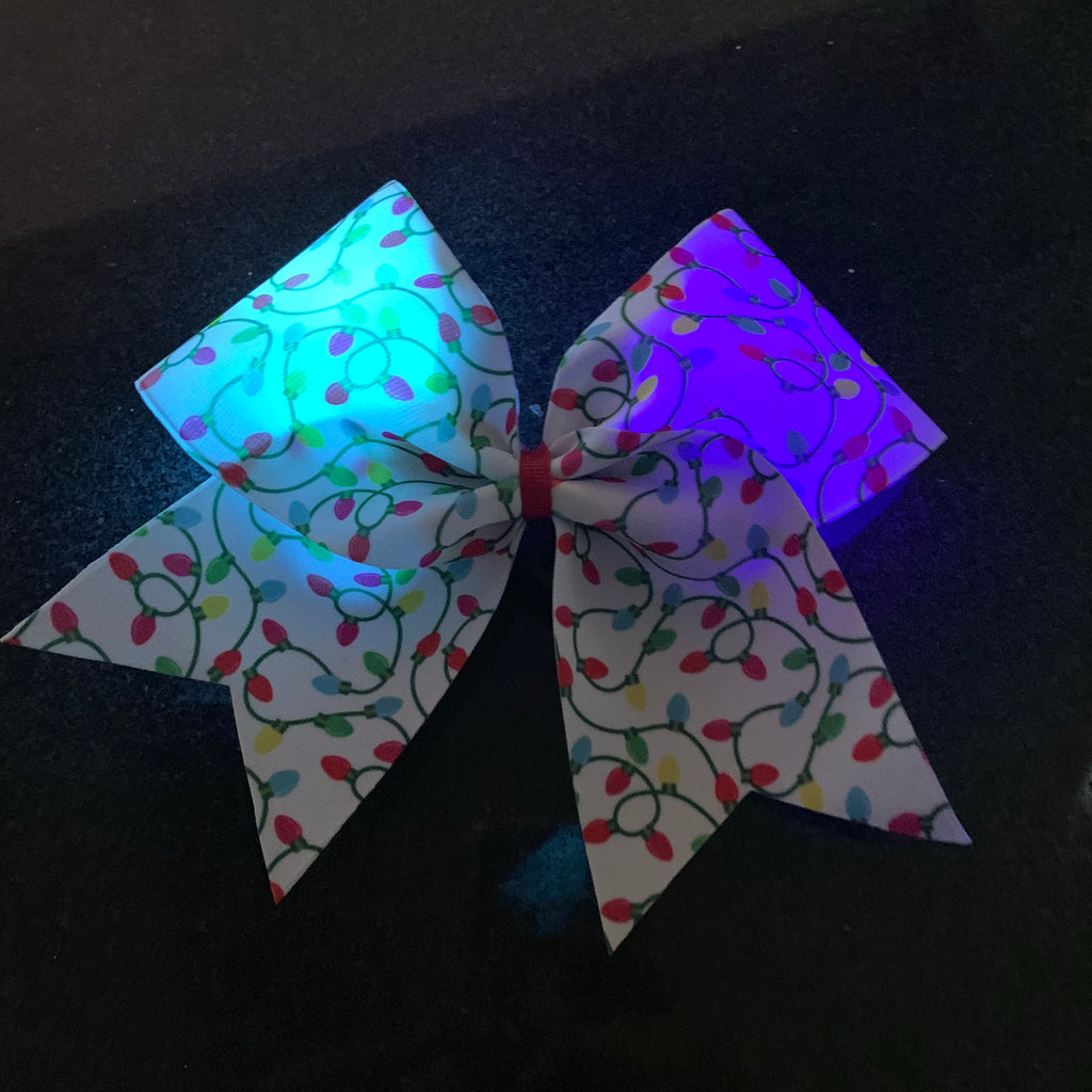 Light up Christmas bow
