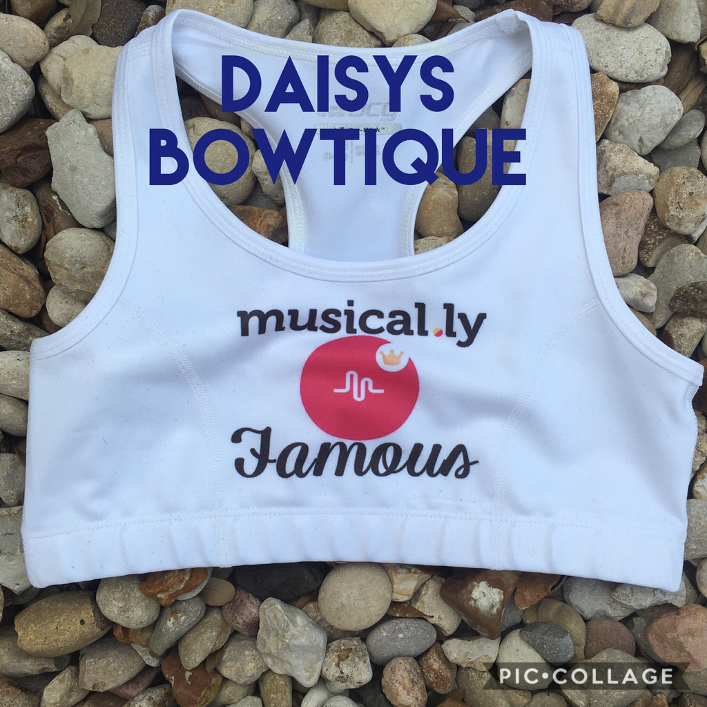 Musically sports bra