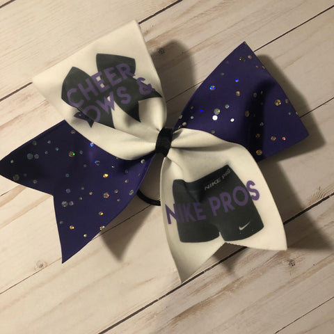Cheer Bows and Nike pro