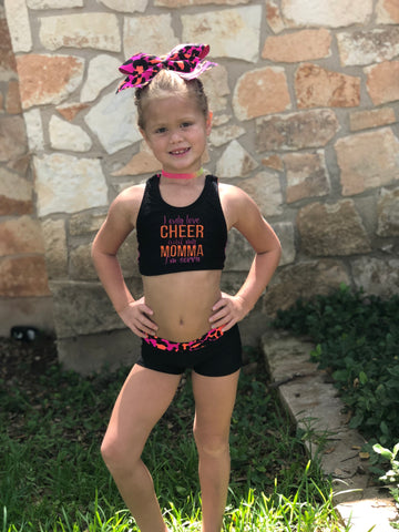dc16d3a29960c Cheer is my sport.  45.00. I only love cheer and my momma