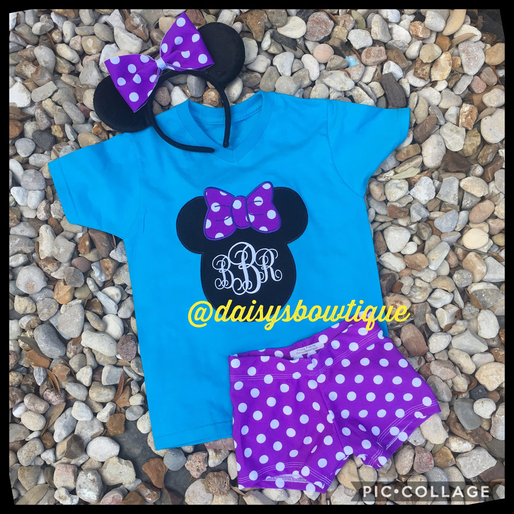 Purple Minnie set