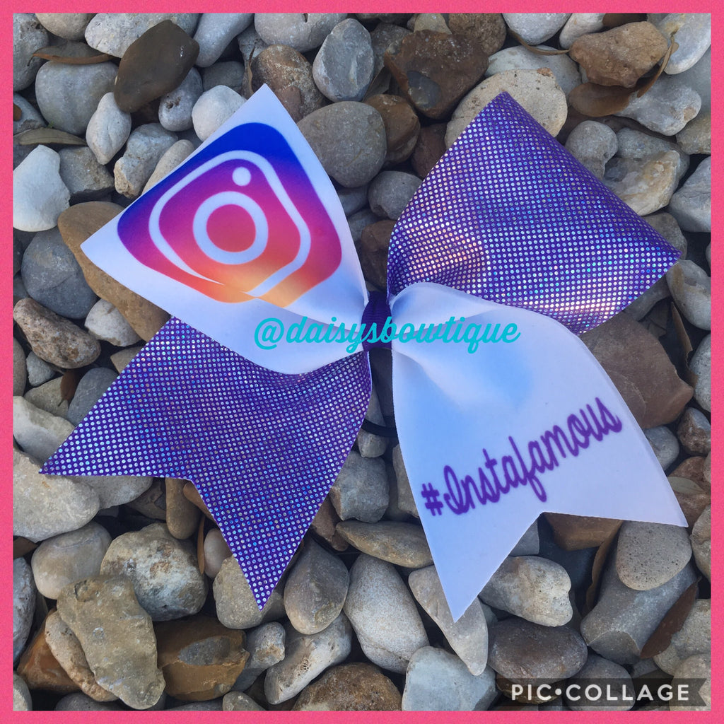 Instagram bow