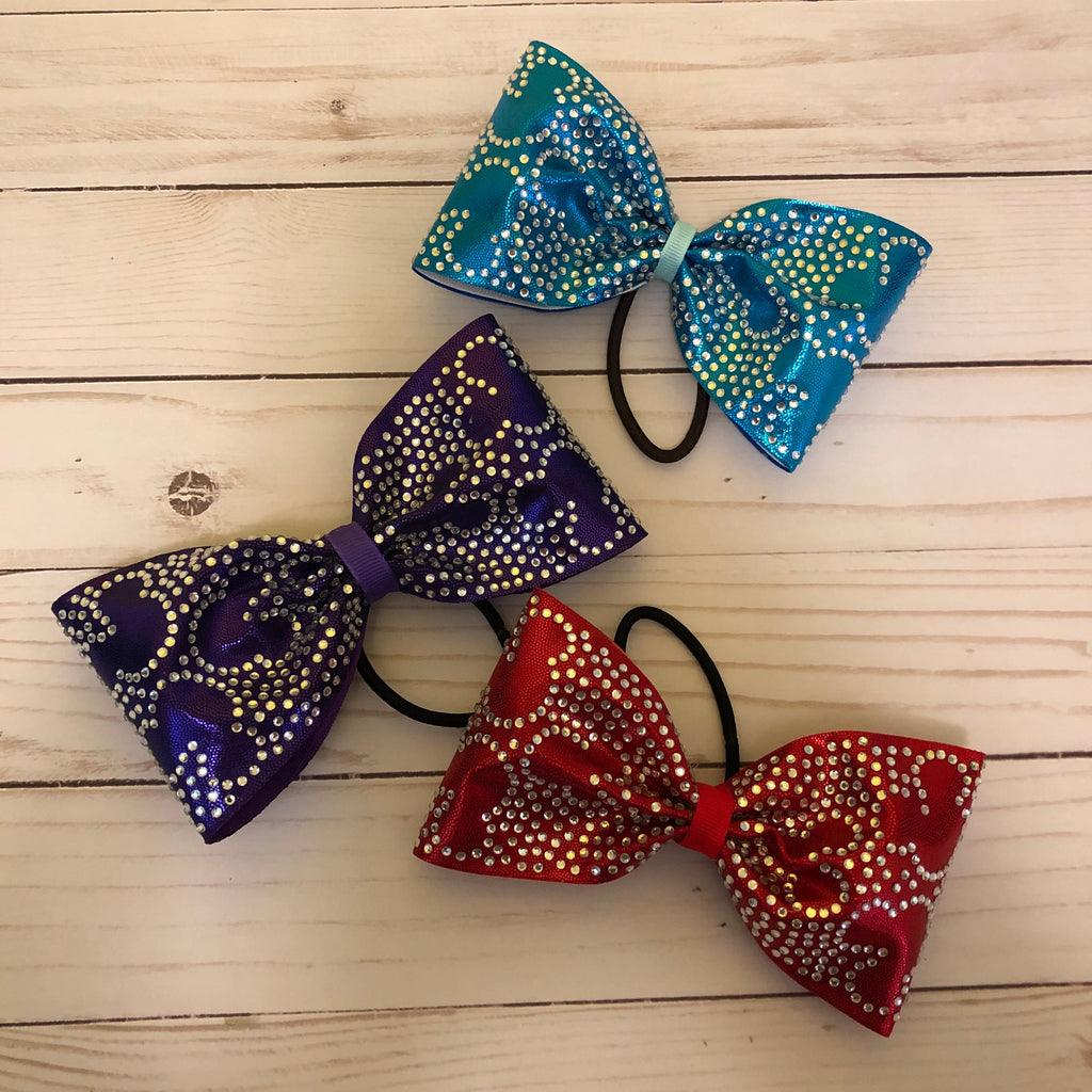 Tailless mickey bling bows