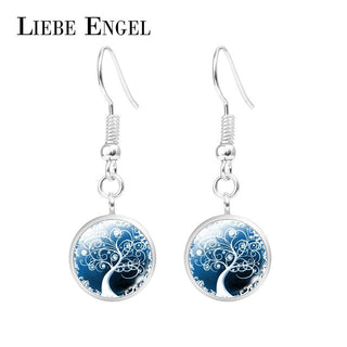 Tree of Life Crystal Rhinestone Eardrop