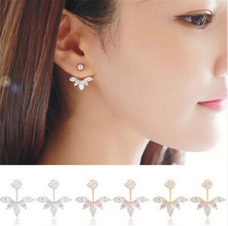 Zircon Crystal 3 Colors Rose Ear