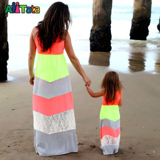 Mommy and daughter dresses