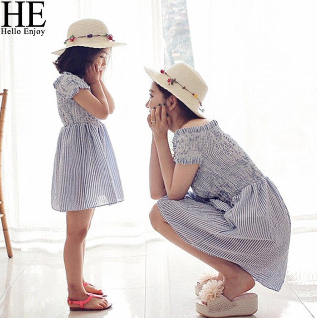 Mother daughter Outfits dresses