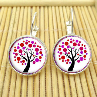 Tree of Life Earring Silver Plated