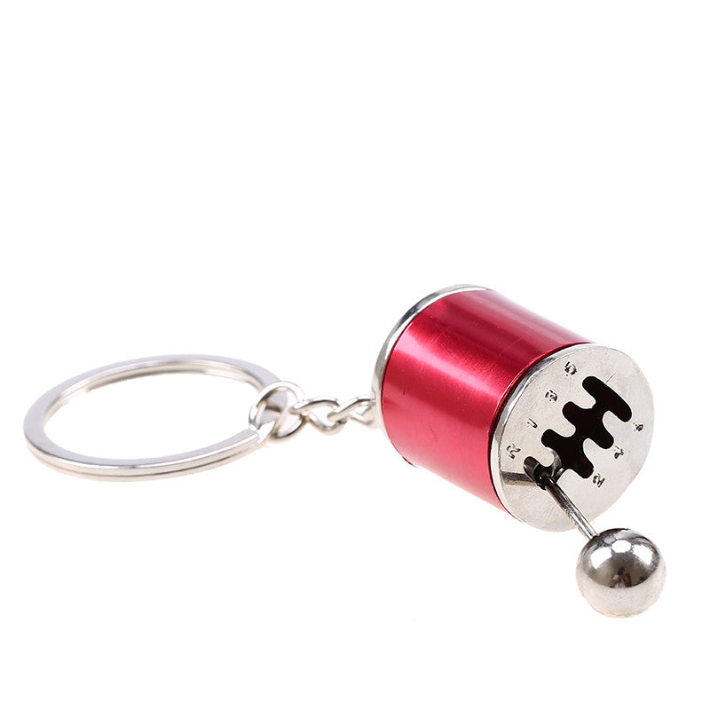 5 Colors Keychains Car Cylinder