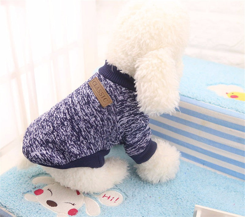 Winter Warm Dog Clothes