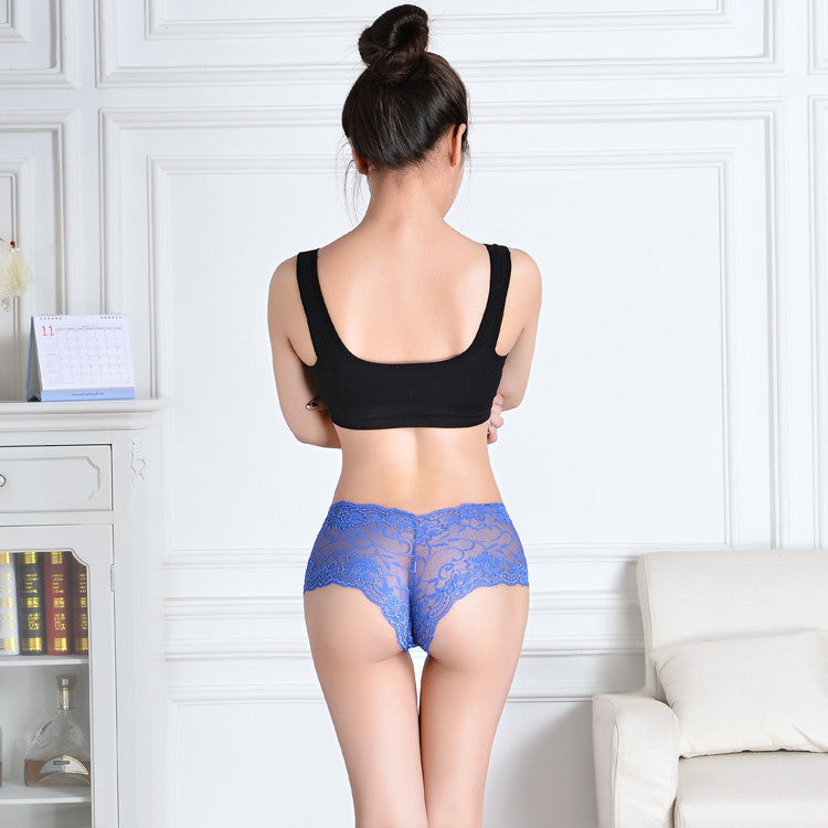 Thin Lace Boxer Panties