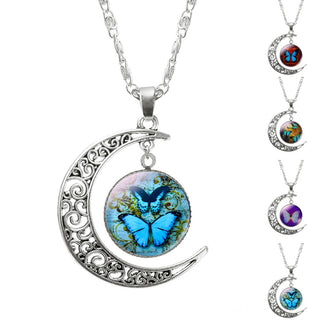Butterfly Pandent Necklace for Women