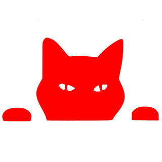 14*7.5CM Cat Fun Car Stickers