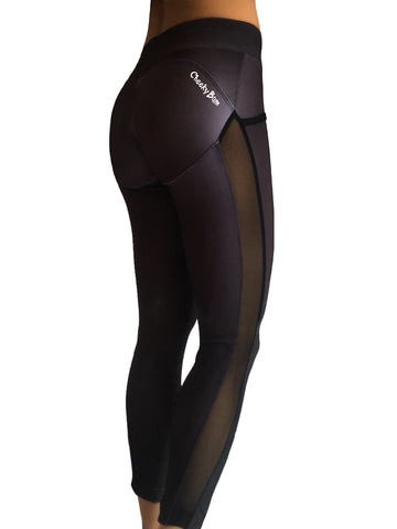 NEW Cheeky Bum - Black Mesh - LIQUIDSALT activewear