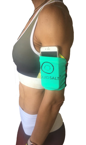 UPCYCLED Cell Phone/Music Device Sleeve - LIQUIDSALT activewear