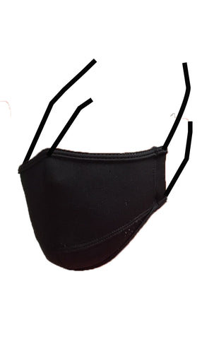 Non-Surgical Face Mask Black - LIQUIDSALT activewear