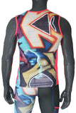 Tech Vest - Graffiti - LIQUIDSALT activewear