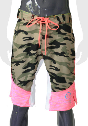 Ghost Shorts - Camo - LIQUIDSALT activewear