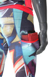 Tech Long Tights - Graffiti - LIQUIDSALT activewear