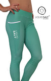 Loving Lime Cheeky Bum Longs - LIQUIDSALT activewear