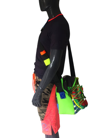 Sport Bag - Lime - LIQUIDSALT activewear