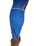 Mens Long Tech Tights Blue Ambre - LIQUIDSALT activewear