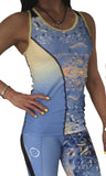 NEW Tech Tank Top - Vanilla water - LIQUIDSALT activewear
