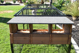 Spring Fling Mobile Coop with 3 Hole Nesting Box