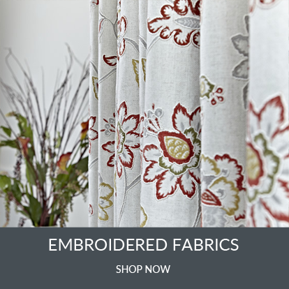 View All Embroidered Fabrics