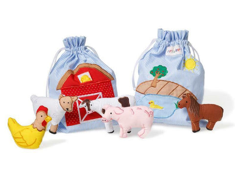oskar&ellen Farmyard Fun Story Bag