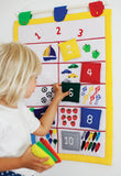 Oskar & Ellen Learn To Count Wall Hanging