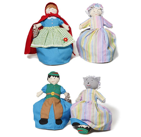 Oskar & Ellen Reversible Doll Red Riding Hood
