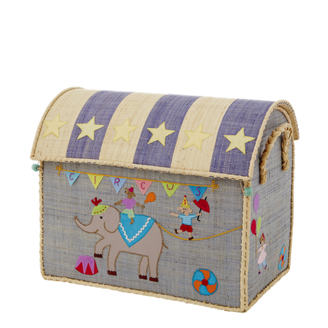 Rice A/S Medium Raffia Circus Basket
