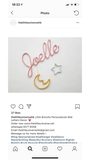Personalized wall decor - Giselle and Paxton