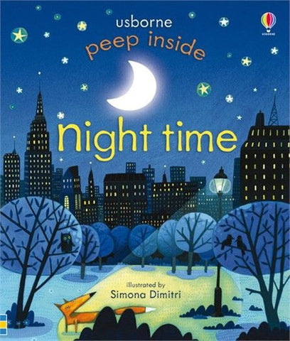 Usborne Peep Inside Night Time