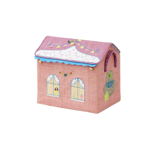RICE DK Small Princess Raffia Toy Basket