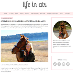 Life By Lee- Life in ATX feature on Hacienda Austin