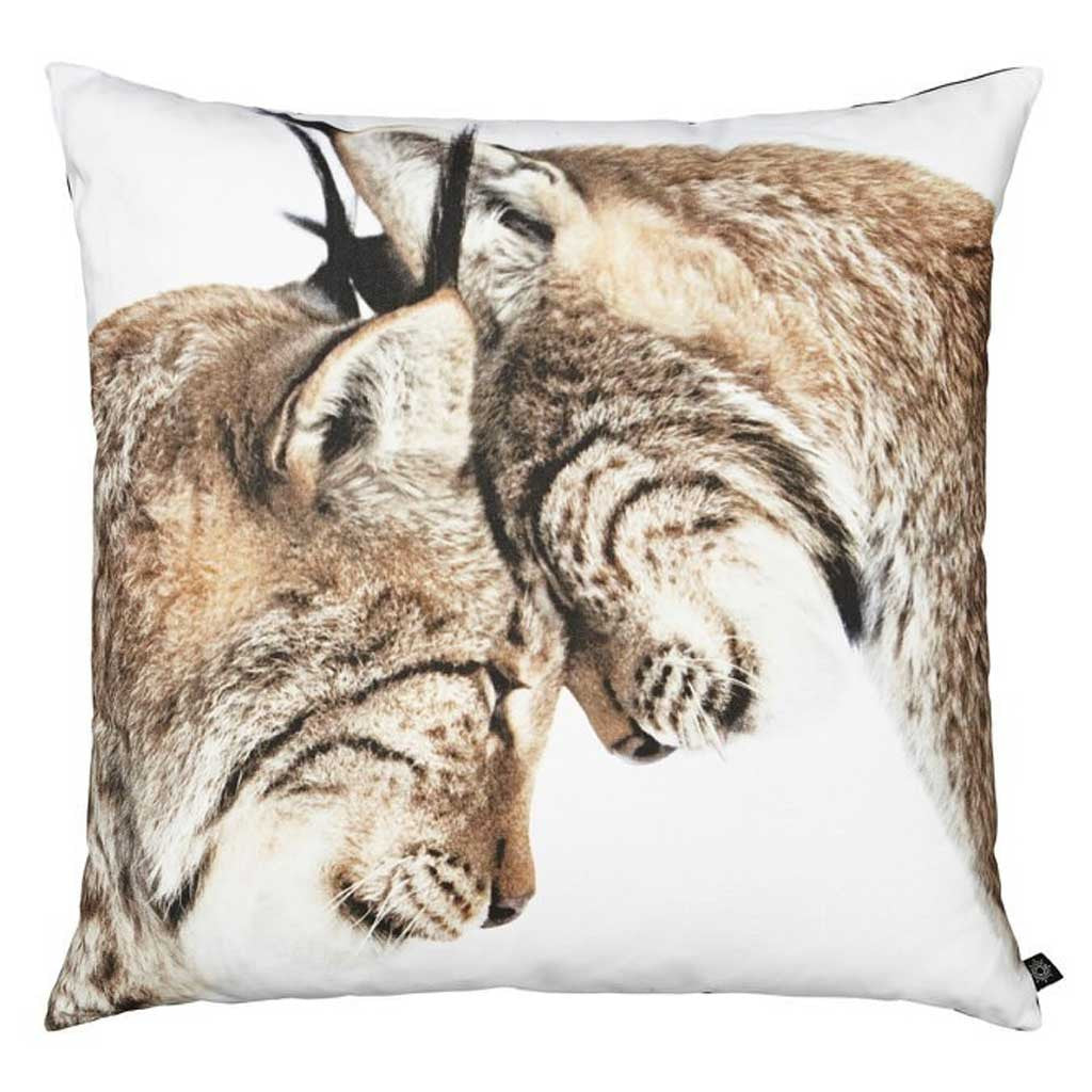 Throw Pillow - Lynx