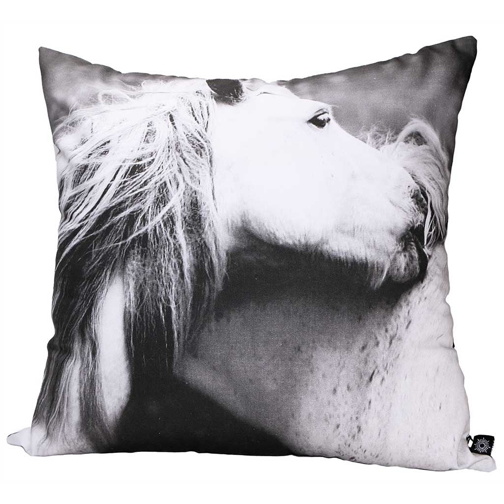 Throw Pillow - Playing Horses