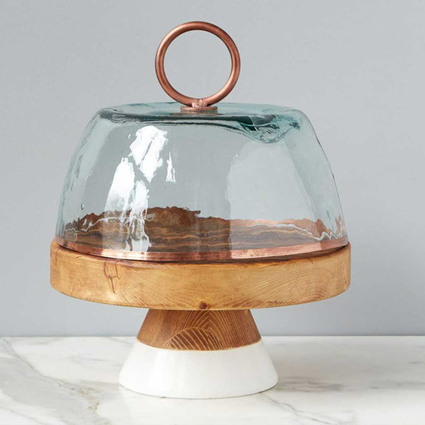 Bianca Glass and Copper Dome