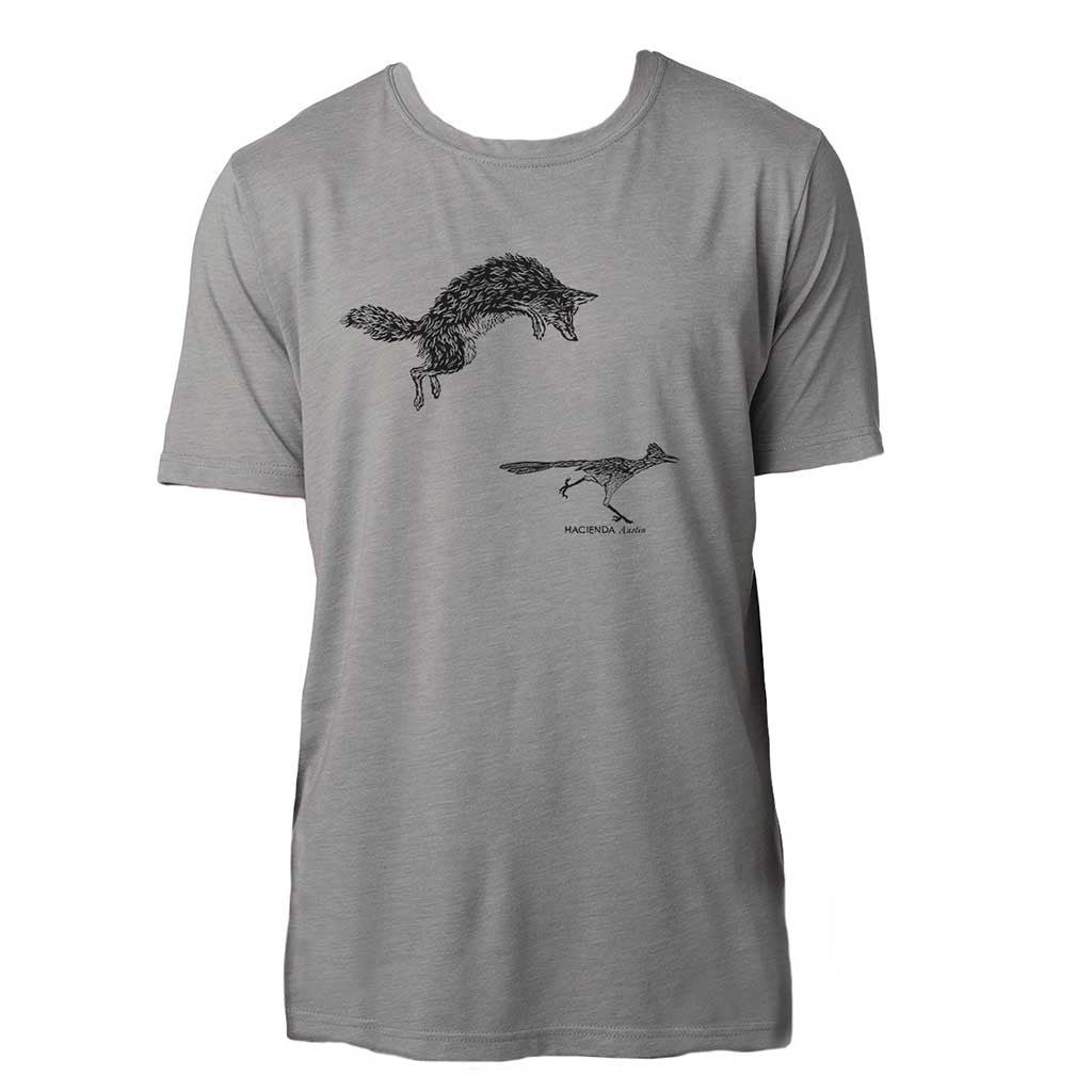 T-Shirt - Native Texan - Coyote & Roadrunner