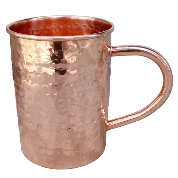 Moscow Mule Mug - Hammered Copper